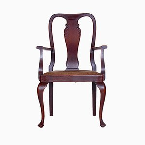 Großer Vintage Armlehnstuhl, 1920er