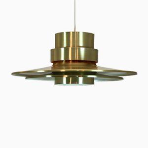 Lampe à Suspension en Laiton par Carl Thore pour Granhaga, Suède, 1960s
