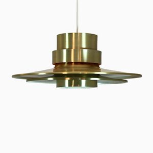 Swedish Brass Pendant by Carl Thore for Granhaga, 1960s