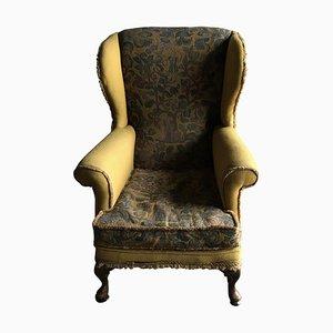 Edwardian English Wingback Chair, 1910s