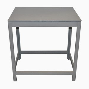 Art Deco Painted Gray Table, 1930s
