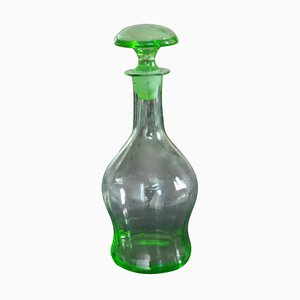 Art Deco Czech Liqueur Decanter Bottle, 1930s