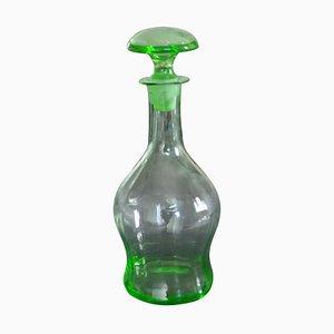 Bottiglia o decanter Art Déco, Cecoslovacchia, anni '30