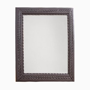 Antiker Spiegel mit geschitztem Rahmen, 1900er