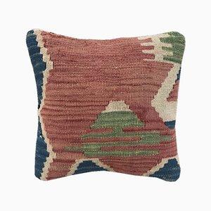 Housse de Coussin Kilim en Laine de Vintage Pillow Store Contemporary, 2010s