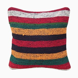 Striped Kilim Mini Cushion Cover from Vintage Pillow Store Contemporary