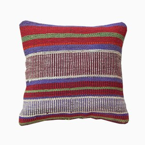 Handmade Turkish Kilim Pillow Cover from Vintage Pillow Store Contemporary