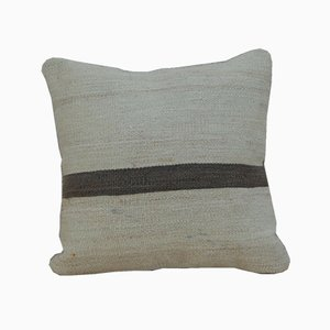 Handmade Natural Color Kilim Pillow Cover from Vintage Pillow Store Contemporary