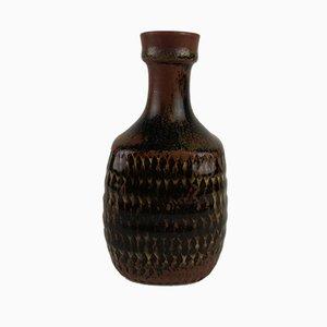 Jarrón de cerámica de Stig Lindberg para Gustavberg, años 60