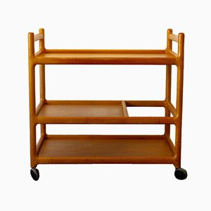 Teak Bar Trolley by Johannes Andersen for CFC Silkeborg, 1960s