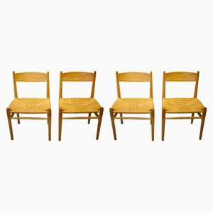 Model CH-36 Dining Chairs by Hans Wegner for Carl Hansen, 1969, Set of 4