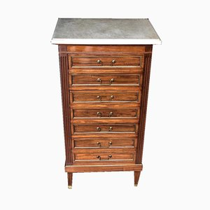 Louis XVI French Mahogany Chest of Drawers, 1860s