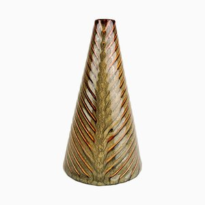 Mid-Century Swedish Domino Vase by Stig Lindberg for Gustavsberg, 1950s