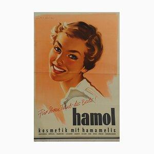 Hamol Poster, 1950s
