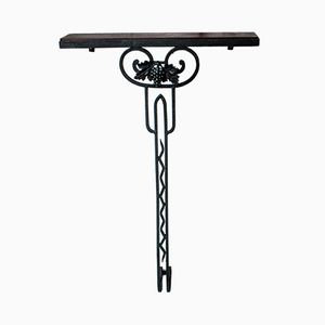Art Deco Wrought Iron Console
