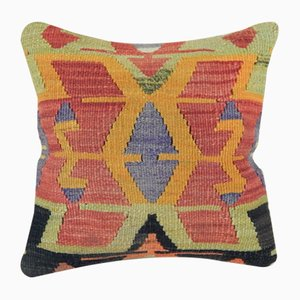 Decorative Handwoven Kilim Pillow Cover from Vintage Pillow Store Contemporary