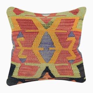 Dekorativer handgewebter Kelim Kissenbezug von Vintage Pillow Store Contemporary