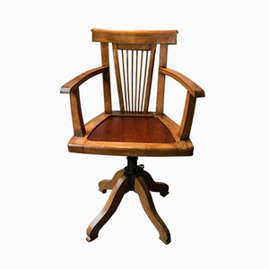 Antique Office Chair from Waring & Gillow