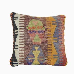 Handgewebter Kelim Wollkissenbezug von Vintage Pillow Store Contemporary