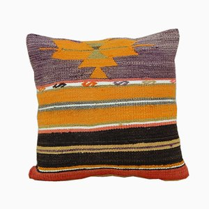 Turkish Kilim Cushion Cover from Vintage Pillow Store Contemporary