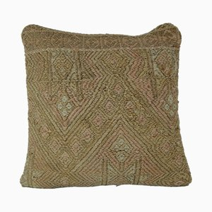 Pale Muted Kilim Pillow Case from Vintage Pillow Store Contemporary