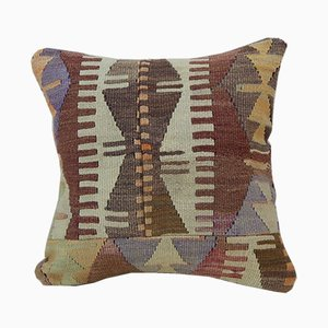 Turkish Handwoven Kilim Pillow Cover from Vintage Pillow Store Contemporary