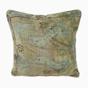 Oushak Ushak Muted-Color Cushion Cover from Vintage Pillow Store Contemporary