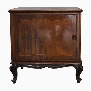 Small Antique Baroque Style Cabinet