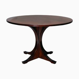 Mid-Century Rosewood Side Table, 1950s