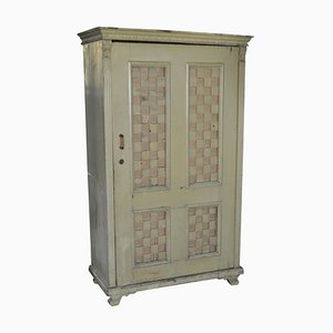 Antique Painted Pine Armoire