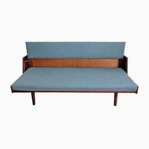 Sofá cama GE 258 vintage de Hans Wegner para Getama