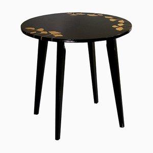 Tavolino nero, anni '60