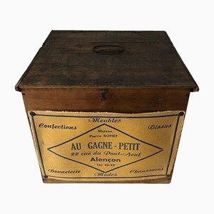 Boîte à Chapeaux en Bois, France, 1940s