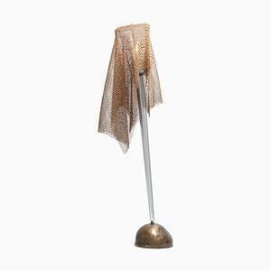 Lampe de Bureau Anchise en Cotte de Maille par Toni Cordero pour Artemide, 1980s