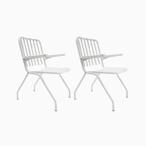 Foldable Garden Armchairs from HEM, 1960s, Set of 2