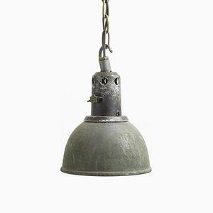 Lampada a sospensione industriale di Holophane, anni '50