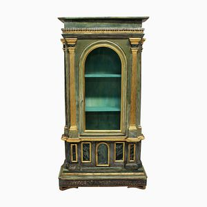 Antique Italian Curiosity Cabinet, 1780s
