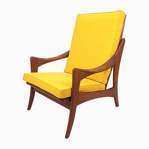Mid-Century Teak Lounge Chair from De Ster Gelderland, 1950s