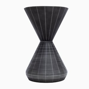 Belgian Alabast Vase by Robert Schubert for De Rupel, 1950s