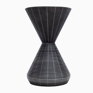 Vase Alabast par Robert Schubert pour De Rupel, Belgique, 1950s