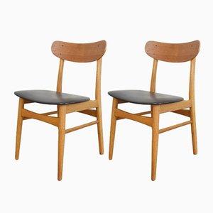 Dänische Mid-Century Stühle von Farstrup, 1960er, 2er Set