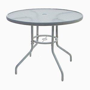 Mesa de jardín redonda, años 70