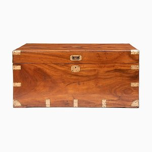 Camphor Wood Military Trunk, 1850s
