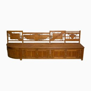 Argentinian Art Deco Bench, 1930s