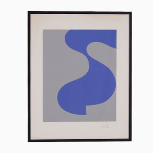 Lithograph by Sophie Taeuber-Arp for Paule Nemours, 1973