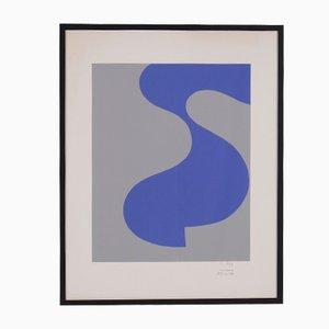 Lithographie von Sophie Taeuber-Arp für Paule Nemours, 1973