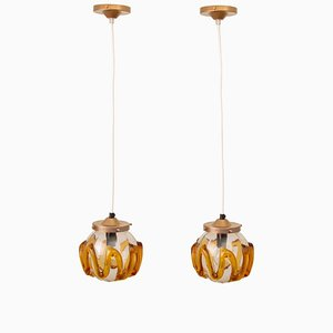 Hanging Lamps, 1970s, Set of 2