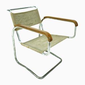 Model H-91 Bauhaus Cantilever Chair by Jindrich Halabala, 1930s
