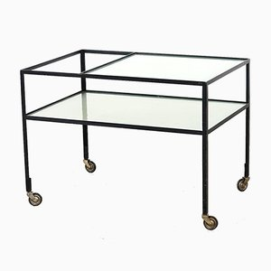 Serving Bar Cart by Herbert Hirche for Rosenthal, 1950s