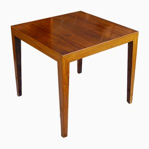 Rosewood Side Table by Severin Hansen, 1960s